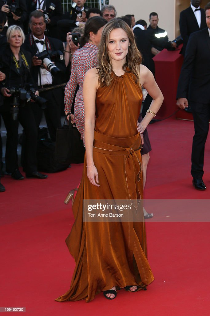 Ana Girardot attends the premiere of 'The Immigrant' at The 66th Annual Cannes Film Festival on May 24, 2013 in Cannes, France.