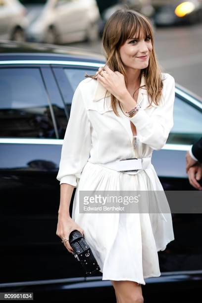 Ana Girardot attends the Vogue Foundation Dinner during Paris Fashion Week Haute Couture Fall/Winter 20172018 on July 4 2017 in Paris France