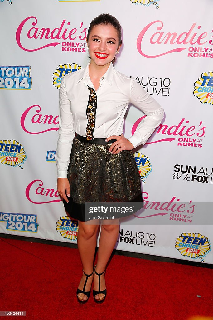 Ana Golja attends DigiTour Hosts Teen Choice 2014 Awards Official Pre-Party at Gibson Guitar Entertainment Relations Showroom on August 9, 2014 in Beverly Hills, California.