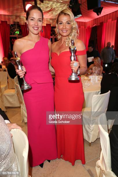 Ana Ivanovic and Franziska van Almsick during the Gala Spa Awards at Brenners ParkHotel Spa on March 25 2017 in BadenBaden Germany
