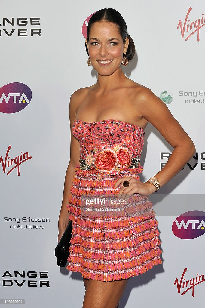 <a gi-track='captionPersonalityLinkClicked' href=/galleries/search?phrase=Ana+Ivanovic&family=editorial&specificpeople=542118 ng-click='$event.stopPropagation()'>Ana Ivanovic</a> arrive at the WTA Tour Pre-Wimbledon Party at The Roof Gardens, Kensington on June 16, 2011 in London, England.