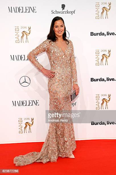 Ana Ivanovic arrives at the Bambi Awards 2016 at Stage Theater on November 17 2016 in Berlin Germany