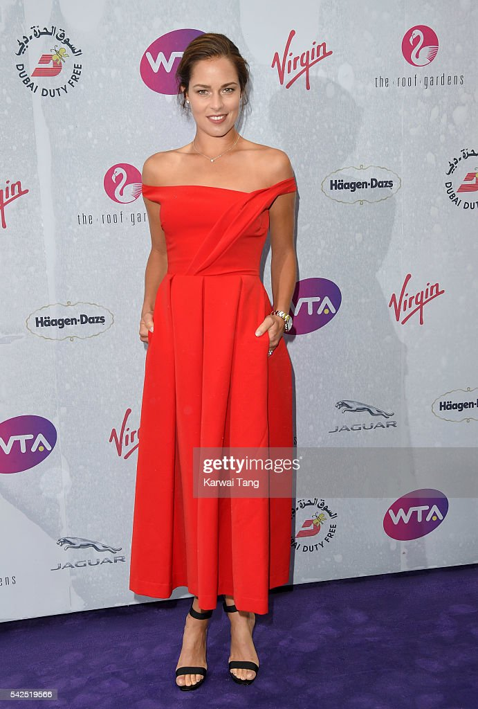 <a gi-track='captionPersonalityLinkClicked' href=/galleries/search?phrase=Ana+Ivanovic&family=editorial&specificpeople=542118 ng-click='$event.stopPropagation()'>Ana Ivanovic</a> arrives for the WTA Pre-Wimbledon Party at Kensington Roof Gardens on June 23, 2016 in London, England.