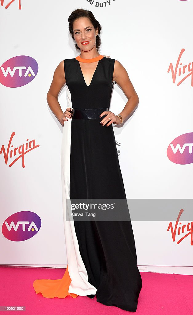 Ana Ivanovic attends the WTA Pre-Wimbledon party at Kensington Roof Gardens on June 19, 2014 in London, England.