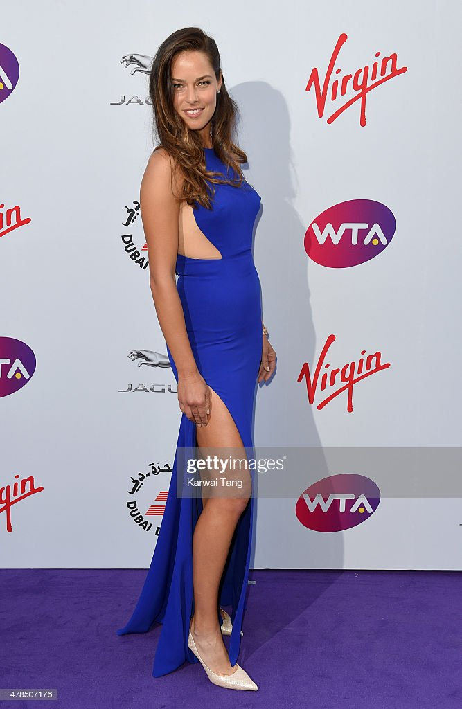 Ana Ivanovic attends the WTA Pre-Wimbledon Party at Kensington Roof Gardens on June 25, 2015 in London, England.