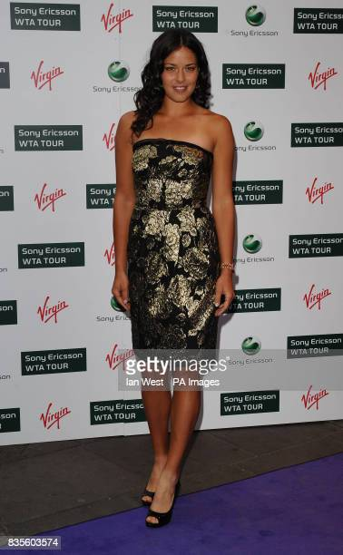 Ana Ivanovic during the Ralph Lauren/Sony Ericsson WTA Tour preWimbledon Party at the Kensington Roof Gardens in London