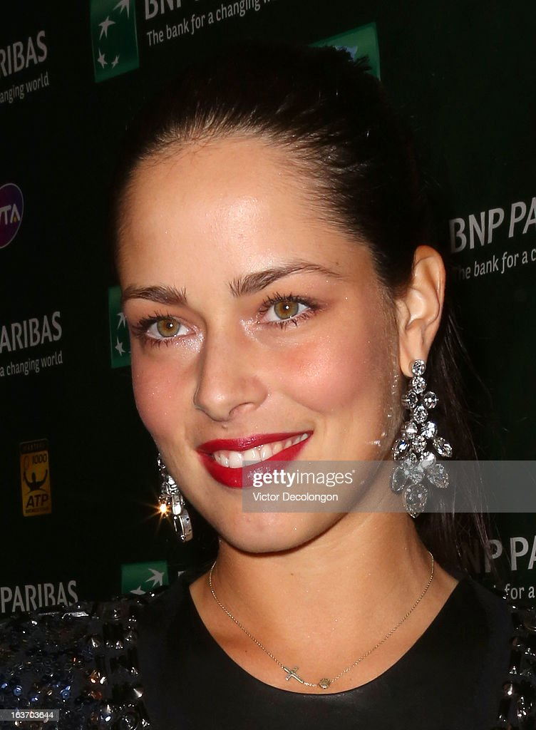 <a gi-track='captionPersonalityLinkClicked' href=/galleries/search?phrase=Ana+Ivanovic&family=editorial&specificpeople=542118 ng-click='$event.stopPropagation()'>Ana Ivanovic</a> of Serbia arrives for a player's party at the IW Club on March 7, 2013 in Indian Wells, California.