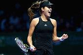 BNP Paribas WTA Finals: Singapore 2014 - Day Five