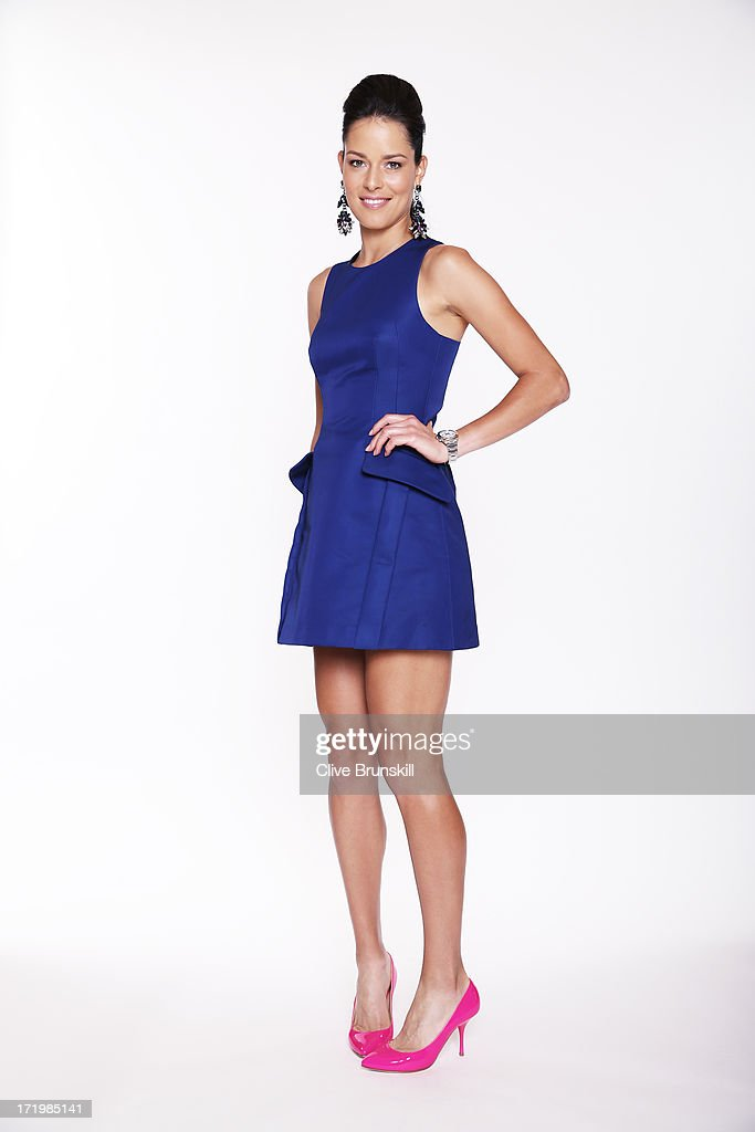 This image has been retouched) Ana Ivanovic poses for an exclusive photoshoot during the WTA 40 Love Celebration on Middle Sunday of the Wimbledon Lawn Tennis Championships at the All England Lawn Tennis and Croquet Club at Wimbledon on June 30, 2013 in London, England.