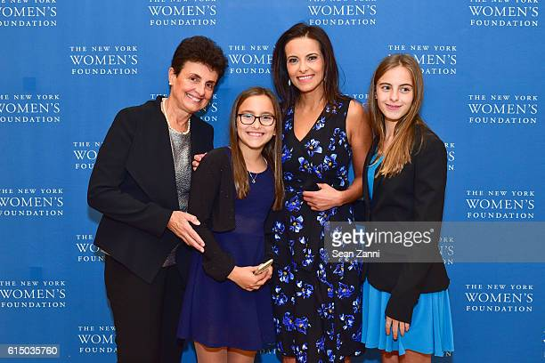 Ana L Oliveira Kate Powell Dina Habib Powell and Eva Powell attend The New York Women's Foundation's 2016 Fall Gala at The Plaza on October 13 2016...
