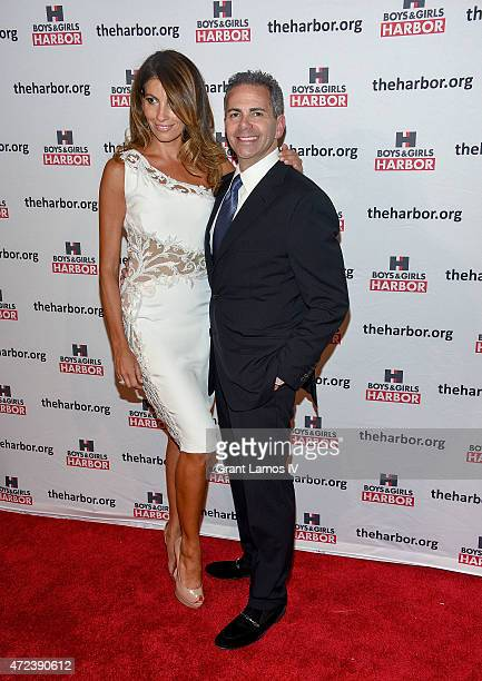 Ana Laspetkovski and event honoree David Weinreb attend the Boys Girls Harbor 2015 Salute to Achievement at The Plaza Hotel on May 6 2015 in New York...