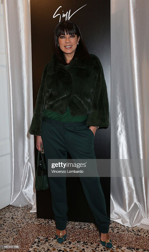 Ana Laura Ribas attends the Giuseppe Zanotti Design Presentation during Milan Fashion Week Womenswear Fall/Winter 2013/14 on February 23, 2013 in Milan, Italy.
