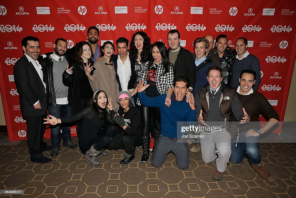 """A Girl Walks Home Alone At Night"" Premiere - 2014 Sundance Film Festival"