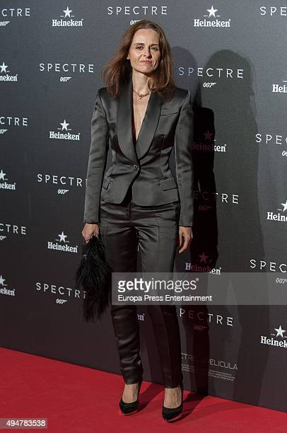 Ana Locking attends 'Spectre' premiere on October 28 2015 in Madrid Spain