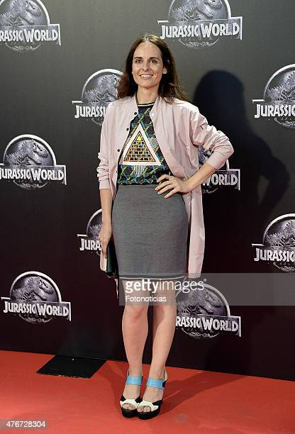 Ana Locking attends the 'Jurassic World' premiere at Capitol Cinema on June 11 2015 in Madrid Spain