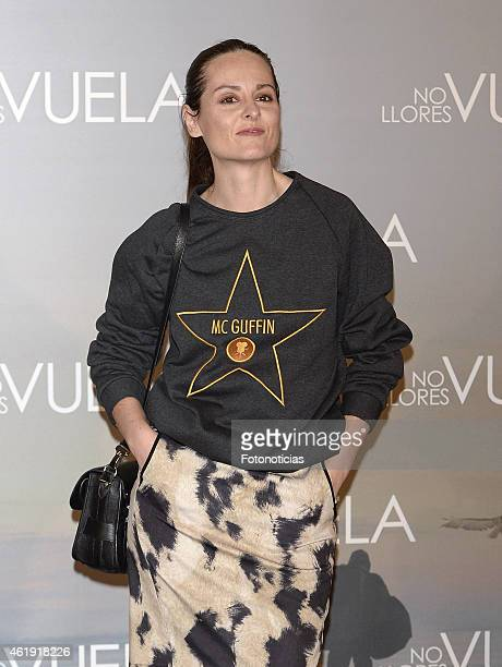 Ana Locking attends the 'No Llores Vuela' premiere at Callao Cinema on January 21 2015 in Madrid Spain