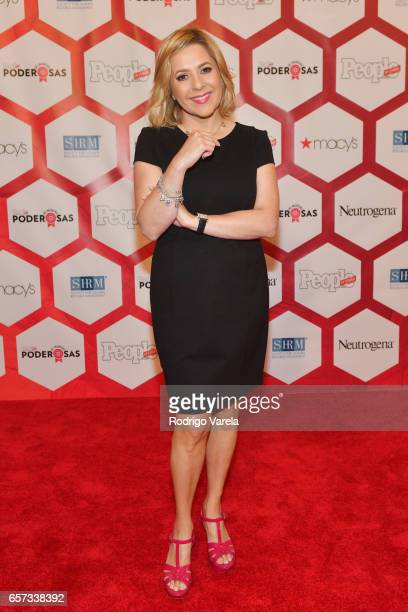 Ana Maria Canseco attends People En Espanol's 25 Most Powerful Women Luncheon 2017 at Hyatt Regency on March 24 2017 in Coral Gables Florida