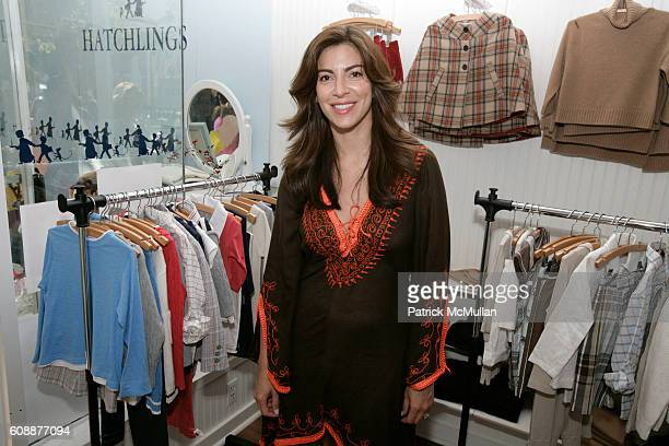 Ana Maria Perez attends HATCHLINGS Spring 2008 'HATCH' Boys Collection hosted by ANNETTE LAUER CRISTINA CUOMO and ANA MARIA PEREZ at Southampton on...