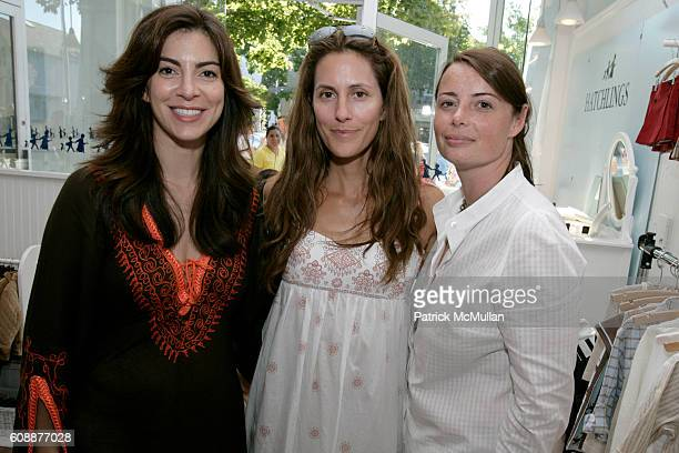 Ana Maria Perez Cristina Cuomo and Christina Peffer attend HATCHLINGS Spring 2008 'HATCH' Boys Collection hosted by ANNETTE LAUER CRISTINA CUOMO and...