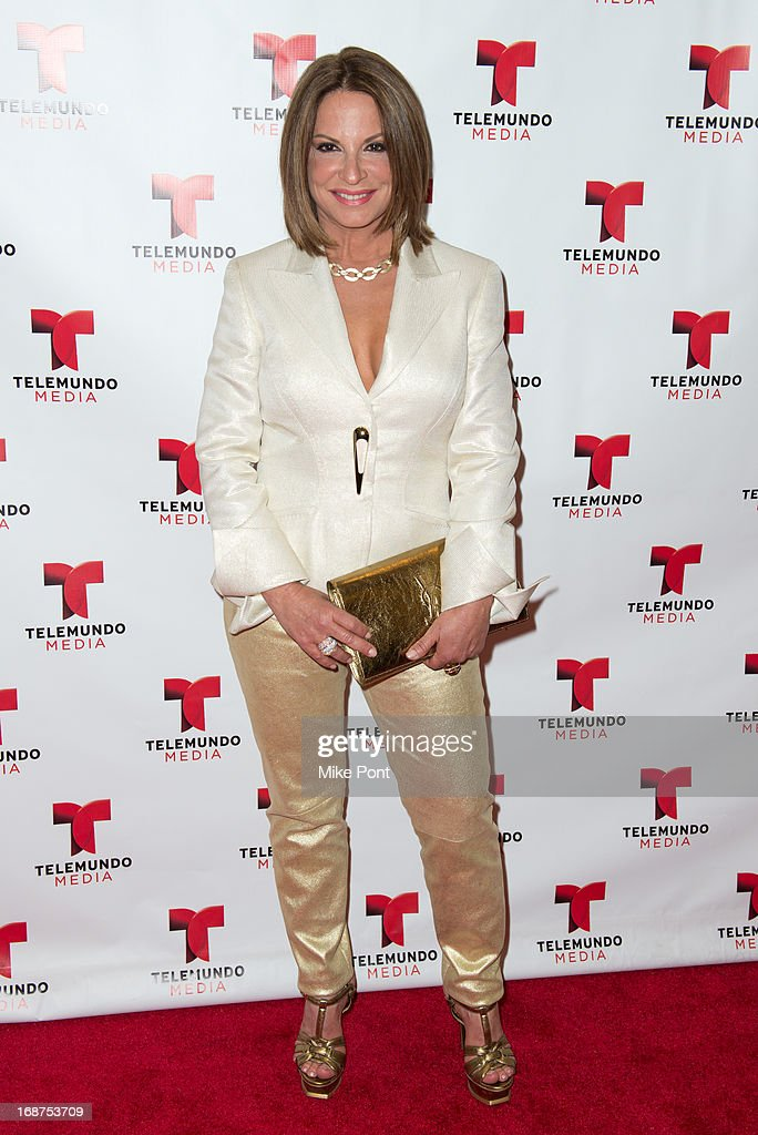 Ana Maria Polo attends the 2013 Telemundo Upfront at Frederick P. Rose Hall, Jazz at Lincoln Center on May 14, 2013 in New York City.