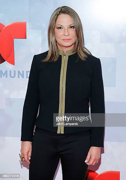 Ana Maria Polo attends the 2014 Telemundo Upfront at Frederick P Rose Hall Jazz at Lincoln Center on May 13 2014 in New York City