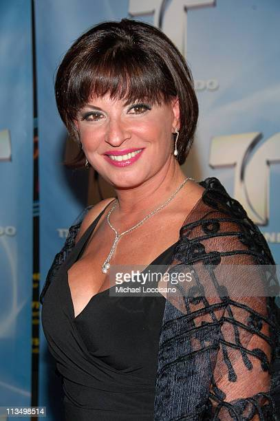 Ana Maria Polo during 2007 Telemundo Upfront at Radio City Music Hall in New York City New York United States