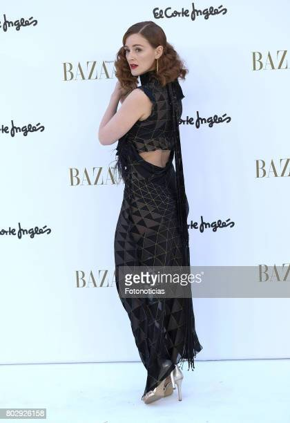 Ana Maria Polvorosa attends Harper's Bazaar 150th anniversary party at Casa de Velazquez on June 28 2017 in Madrid Spain