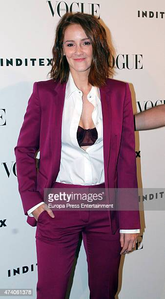 Ana Maria Polvorosa attends 'IV Vogue Who's On Next' party on May 19 2015 in Madrid Spain