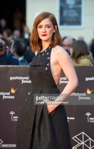 Ana Maria Polvorosa during the 20th Malaga Film Festival at the Cervantes Teather on March 25 2017 in Malaga Spain