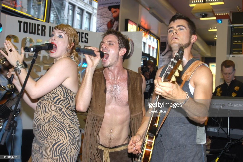 Scissor Sisters In Store Appearance at Tower Records - July 30, 2004
