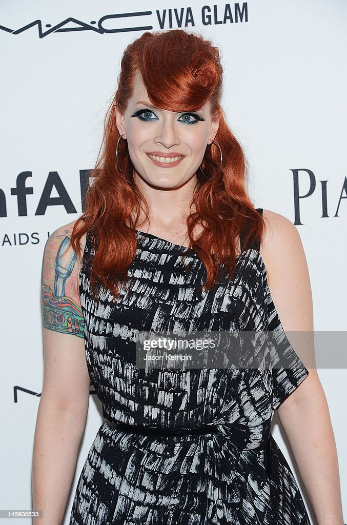 Ana Matronic of the band Scissor Sisters attends the 3rd annual amfAR Inspiration Gala New York at The New York Public Library - Stephen A. Schwarzman Building on June 7, 2012 in New York City.