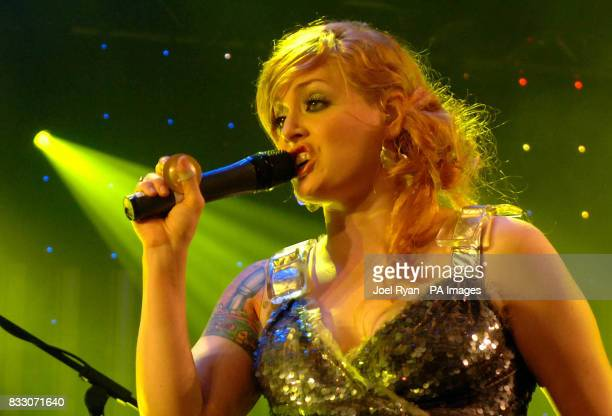 Ana Matronic of The Scissor Sisters performs at BBC Radio 1's Big Weekend in Preston