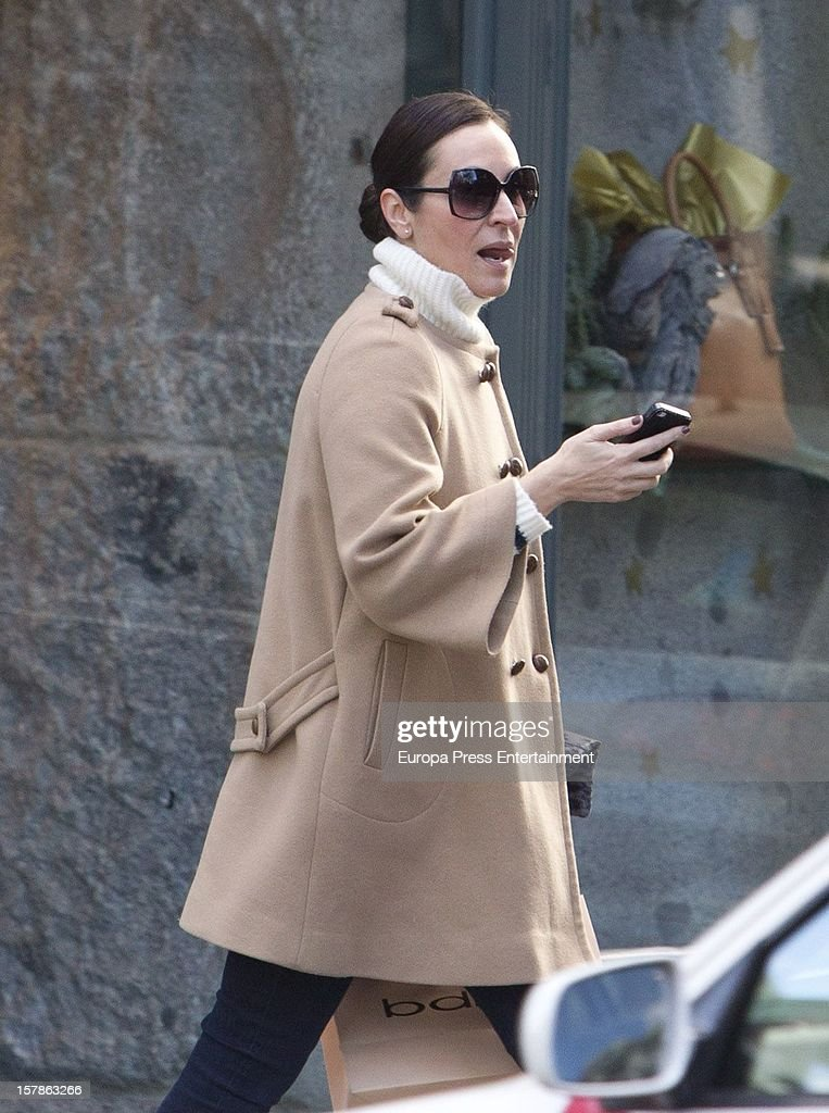 Ana Milan is seen on December 6, 2012 in Madrid, Spain.