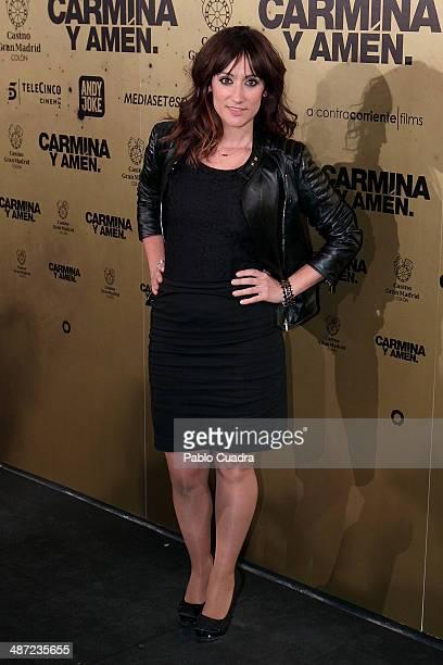 Ana Morgade attends 'Carmina Y Amen' Premiere on April 28 2014 in Madrid Spain