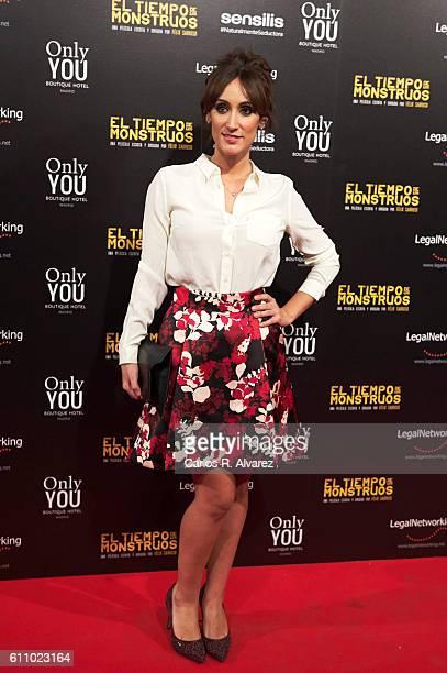 Ana Morgade attends 'El Tiempo De Los Monstruos' premiere at Palacio de la Prensa cinema on September 28 2016 in Madrid Spain