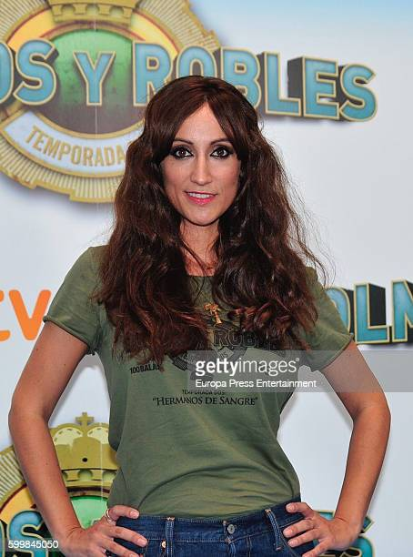 Ana Morgade attends 'Olmos y Robles' photocall during FesTVal 2016 Televison Festival on September 6 2016 in VitoriaGasteiz Spain