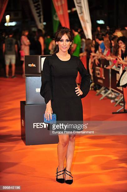 Ana Morgade attends 'Olmos y Robles' premiere at the Principal Theater during FesTVal 2016 on September 6 2016 in VitoriaGasteiz Spain