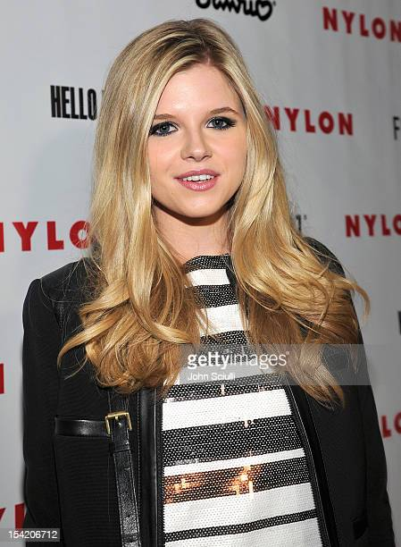Ana Mulvoy attends the NYLON Magazine Forever 21 and Sanrio celebration of the OCTOBER IT issue and launch of Hello Kitty Forever at the London Hotel...