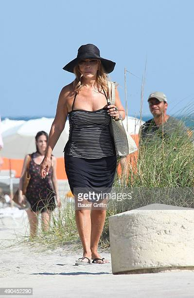 Ana Obregon is seen on March 17 2011 in Miami Florida