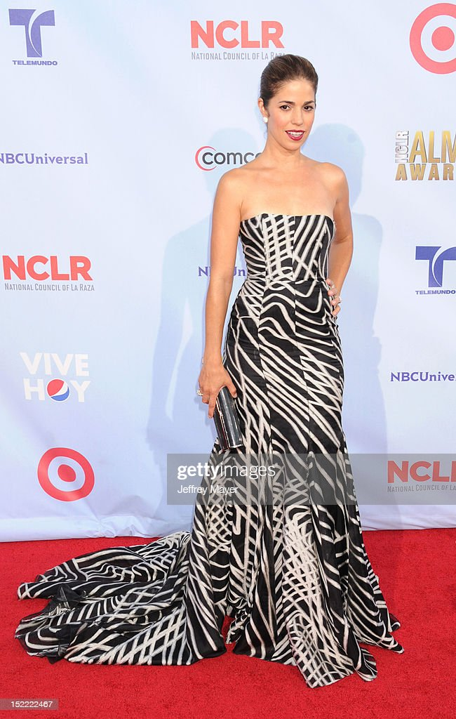 Ana Ortiz arrives at the 2012 NCLR ALMA Awards at Pasadena Civic Auditorium on September 16, 2012 in Pasadena, California.