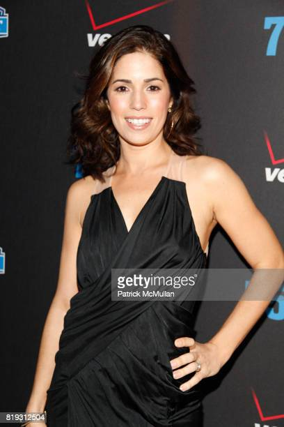 Ana Ortiz attends NFL and VERIZON Celebrate Draft Eve at Abe and Arthur's on April 21 2010 in New York City