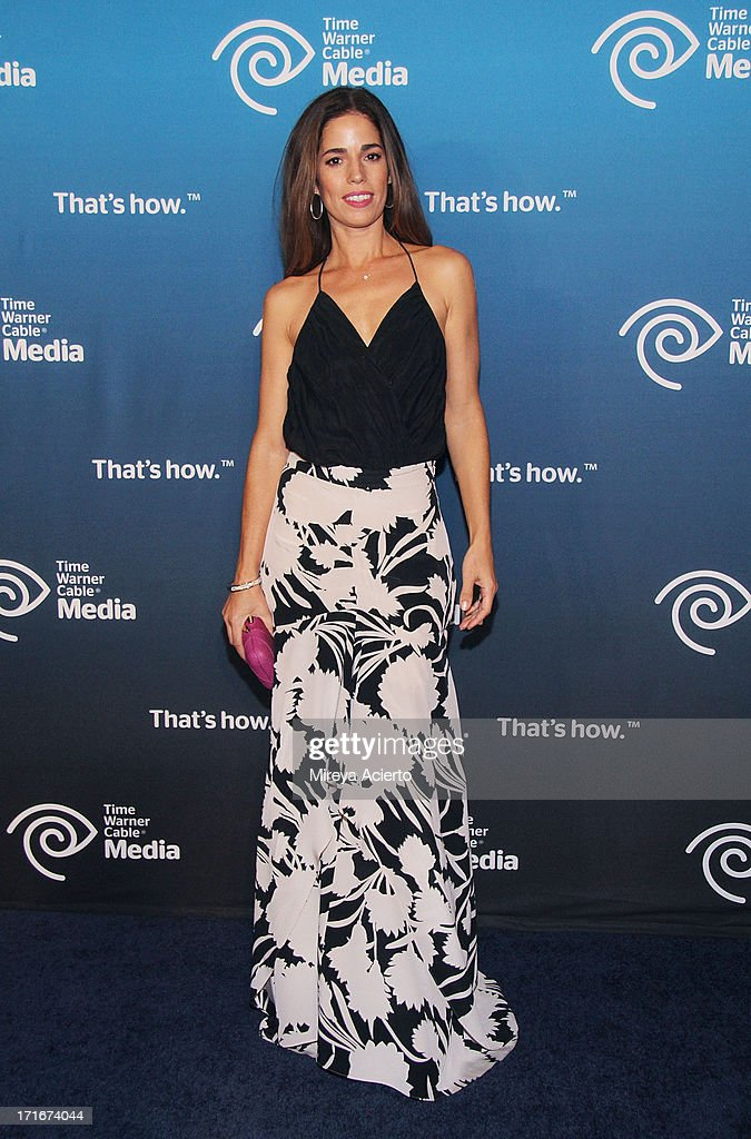 Ana Ortiz attends the Time Warner Cable 'View From The Top' Media Upfront at Frederick P. Rose Hall, Jazz at Lincoln Center on June 27, 2013 in New York City.