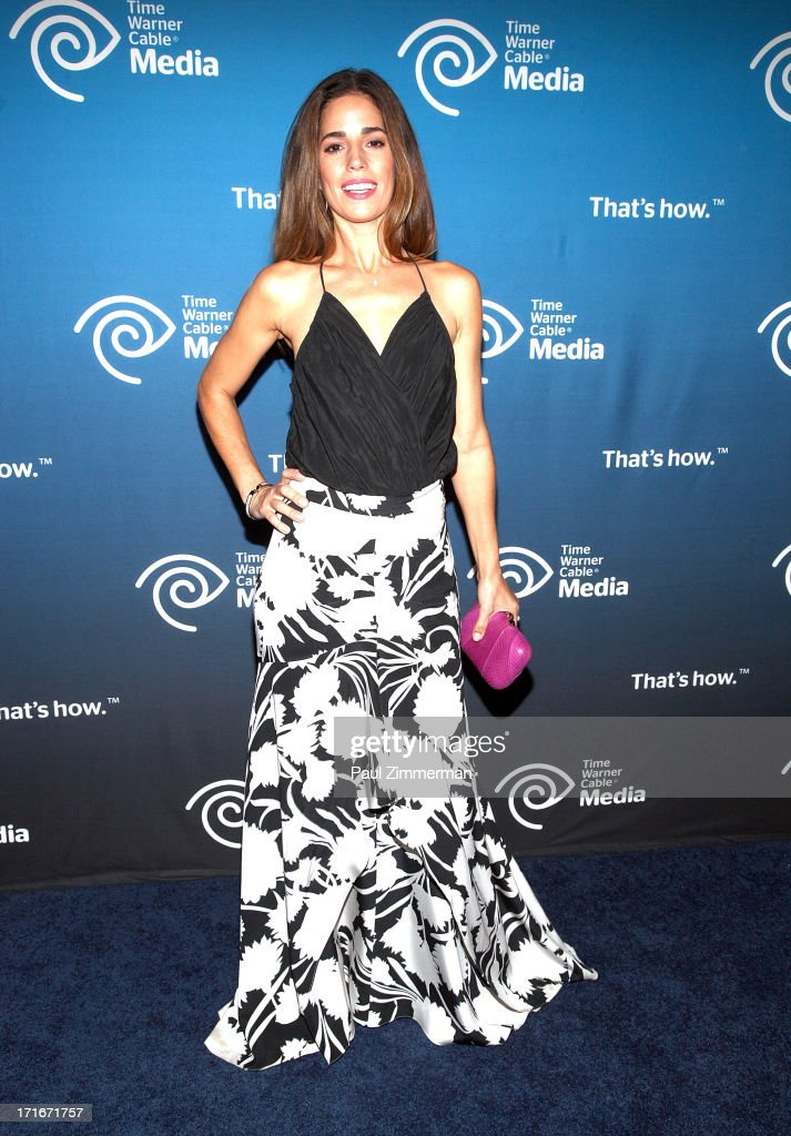 Ana Ortiz attends Time Warner Cable Media's 'View From The Top' Upfront at Jazz at Lincoln Center on June 27, 2013 in New York City.