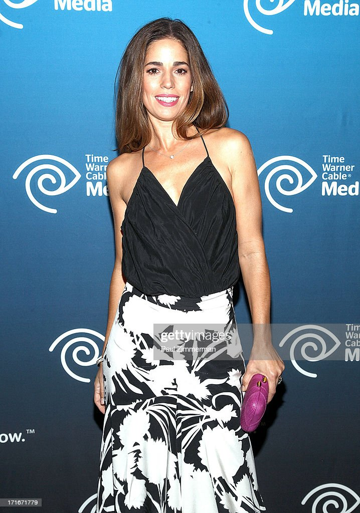 <a gi-track='captionPersonalityLinkClicked' href=/galleries/search?phrase=Ana+Ortiz+-+Actress&family=editorial&specificpeople=12934861 ng-click='$event.stopPropagation()'>Ana Ortiz</a> attends Time Warner Cable Media's 'View From The Top' Upfront at Jazz at Lincoln Center on June 27, 2013 in New York City.
