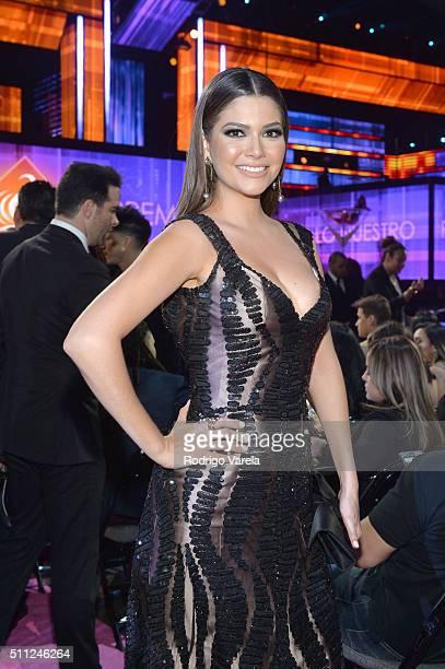 Ana Patricia Gamez attends Univision's 28th Edition of Premio Lo Nuestro A La Musica Latina on February 18 2016 in Miami Florida