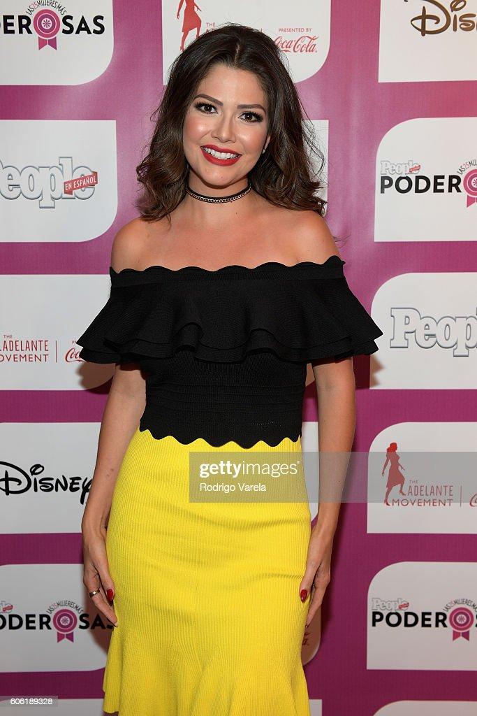 Ana Patricia Gámez attends the People En Espanol Celebrates 'Las 25 Mujeres Mas Poderosas' at The Ritz-Carlton, Coconut Grove on September 16, 2016 in Miami, Florida.