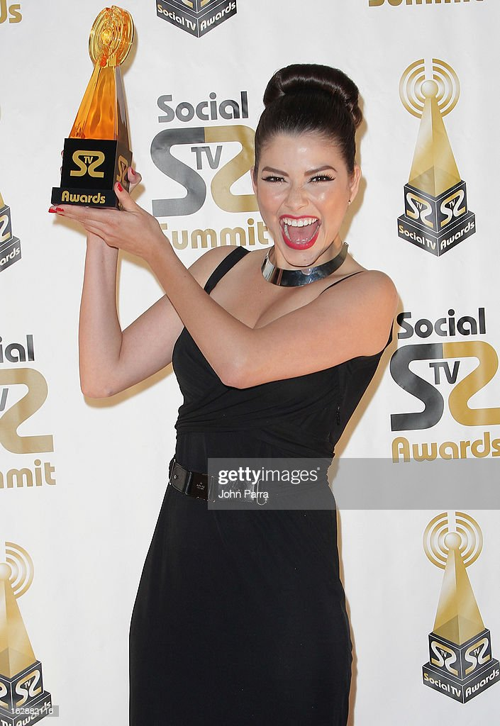 Ana Patricia Gonzalez attends the 2013 Latin Social TV Awards at Fontainebleau Miami Beach on February 28, 2013 in Miami Beach, Florida.