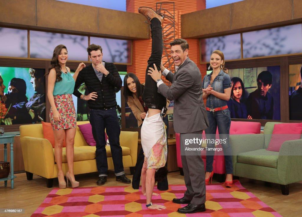 "Celebrities On The Set of ""Despierta America"""
