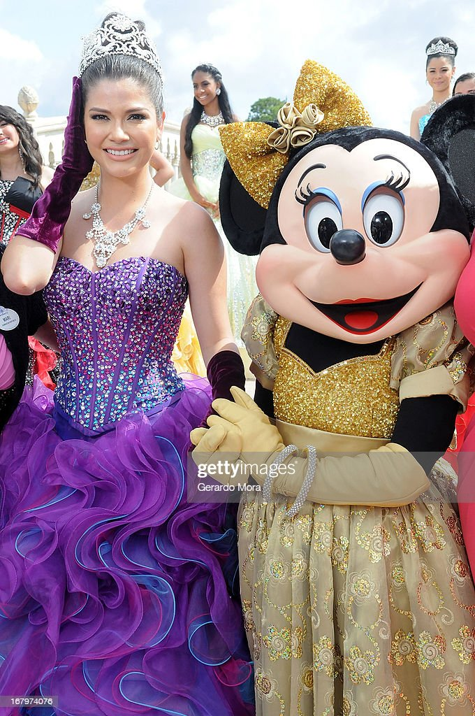 Ana Patricia Gonzalez poses during Univision's morning show Despierta America 16th anniversary at Epcot Center Walt Disney World on May 3, 2013 in Orlando, Florida.