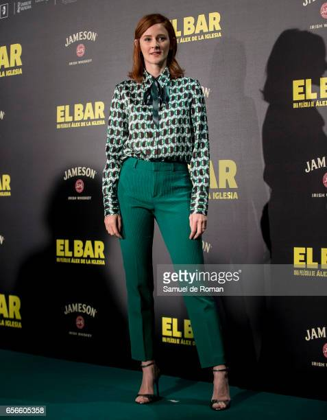 Ana Polvorosa attends 'El Bar' premiere at Callao cinema on March 22 2017 in Madrid Spain